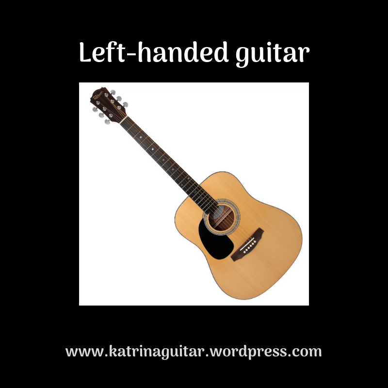 You can buy bespoke left handed guitars